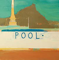 Outside Pool by Alastair Lindsay