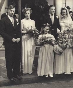 Patrick's parents' wedding day